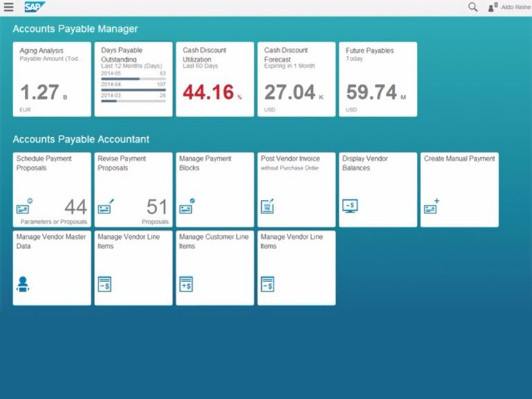 Increase user adoption with SAP Fiori.