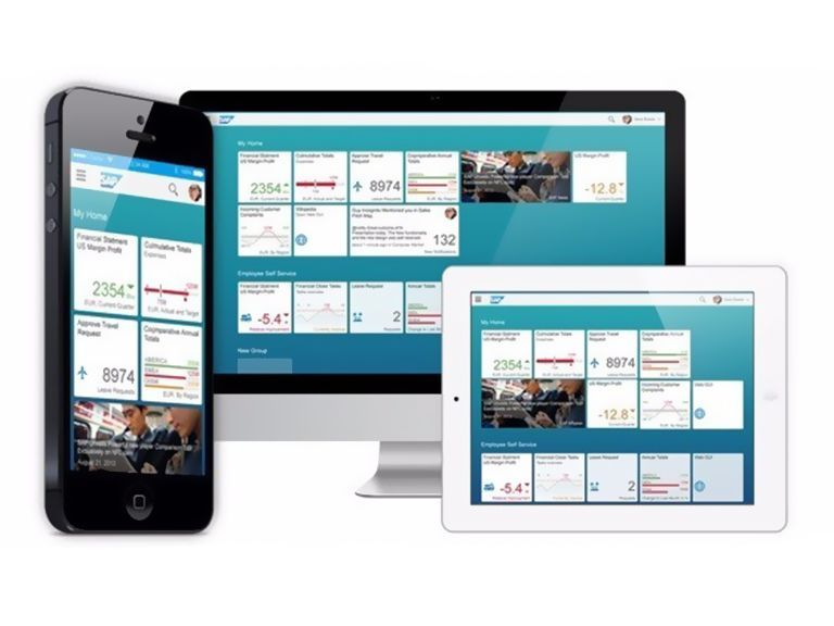 Personalize and simplify the user experience (UX) on any device with SAP Fiori.