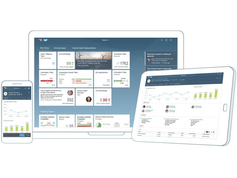 Personalise and simplify the user experience (UX) on any device with SAP Fiori.
