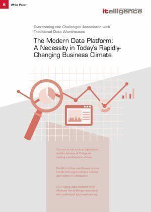 Современная платформа обработки данных необходима в условиях меняющегося бизнеса