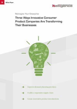 How to Face the Effects of Digitisation that are Rippling Through the Consumer Products Industry