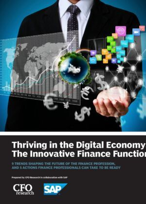 The Future of Finance –- Thriving in the Digital Economy