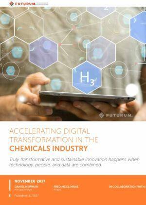 El desafío de la innovación de la transformación digital y lo que significa para la industria química.