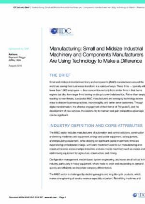 Malé a stredné podniky (SMEs), ktoré využívajú moderné technológie a vďaka tomu si udržali náskok pred konkurenciou